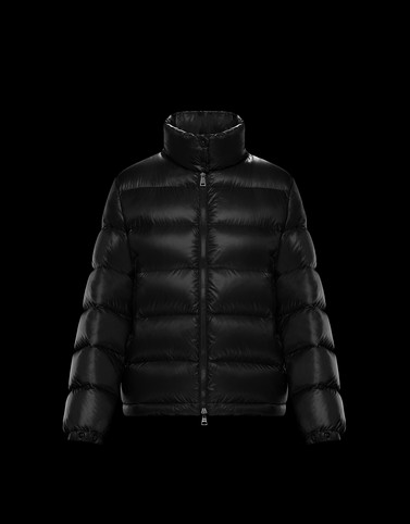 COPENHAGUE Black Short Down Jackets