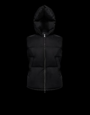 GAMBLE Black View all Outerwear Woman