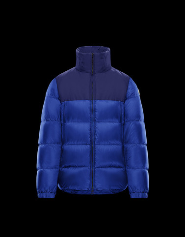 FAIVELEY Blue Category Bomber Jacket Man