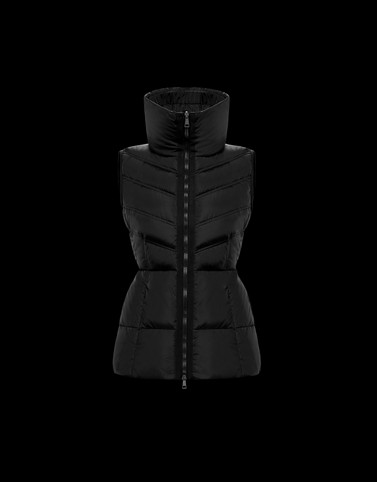 AIGRE Black Category Waistcoats Woman