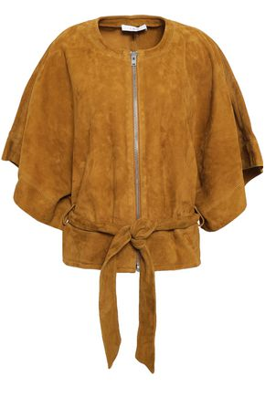 IRO Belted suede jacket