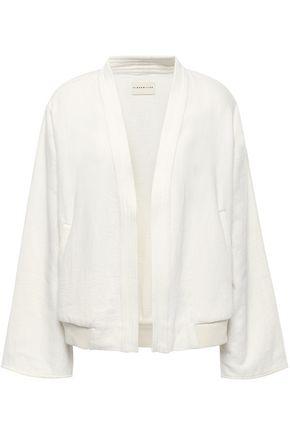 SIMON MILLER Open-front cotton jacket