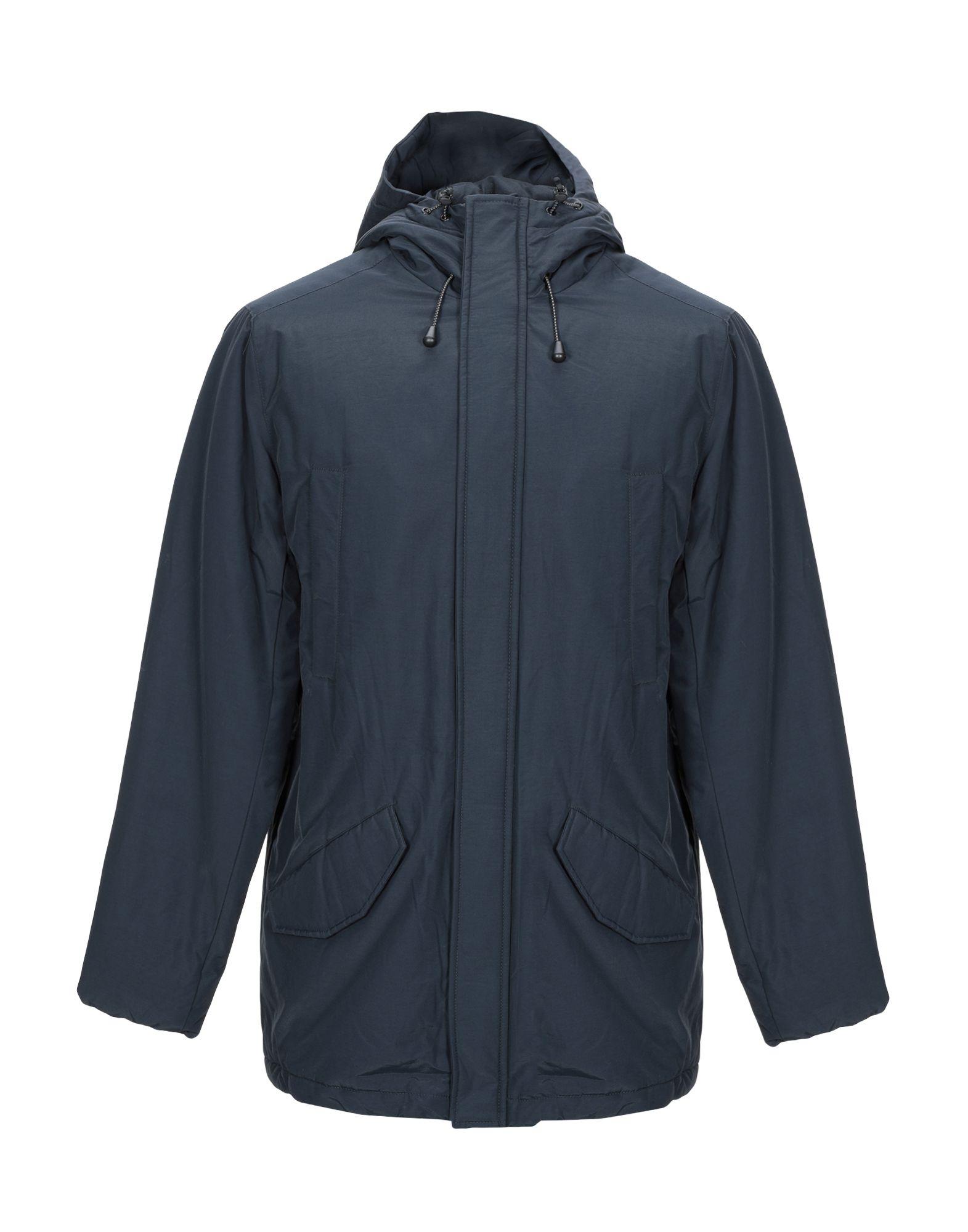 《期間限定セール中》CIESSE PIUMINI メンズ コート ダークブルー 52 コットン 65% / ナイロン 35%