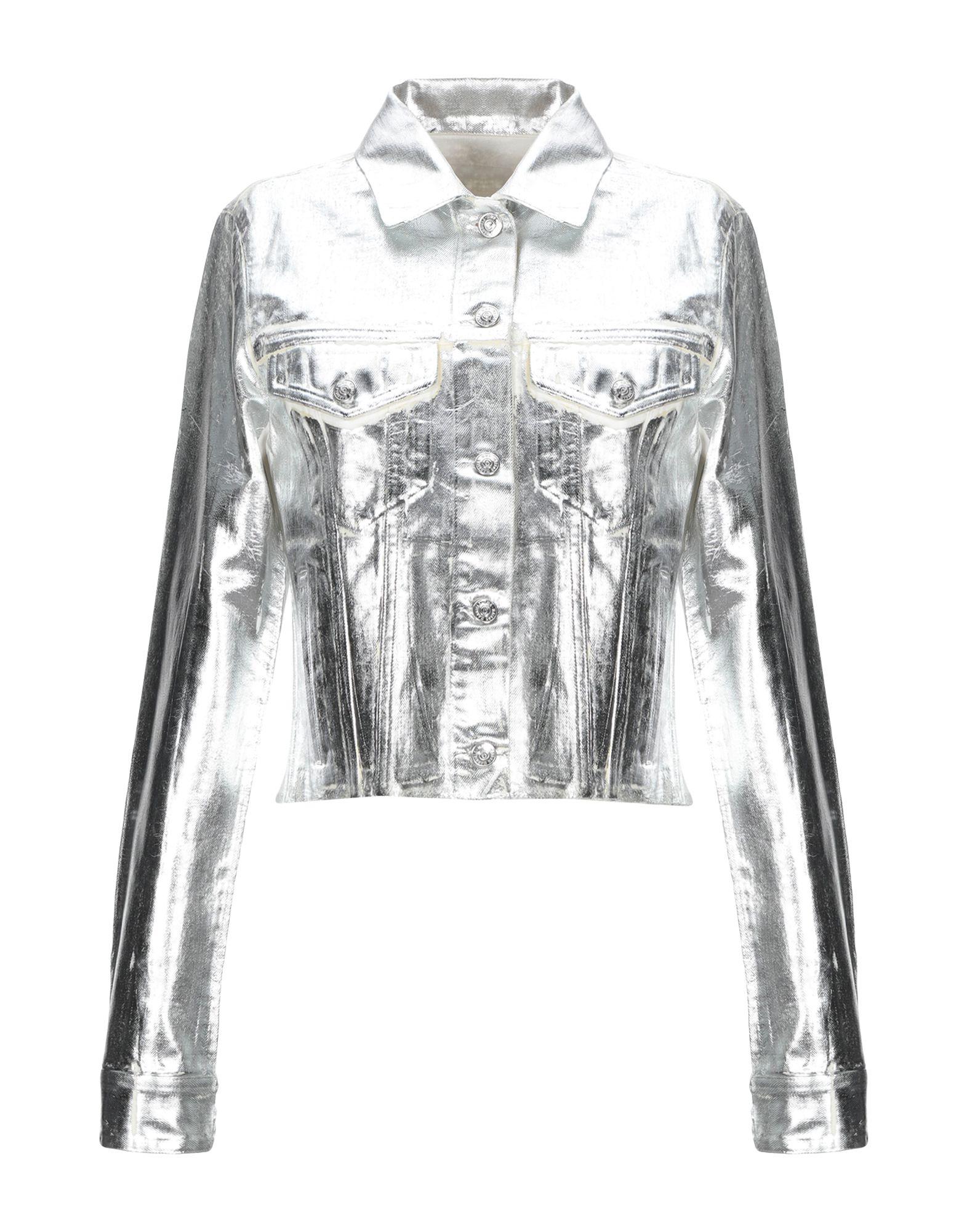 MM6 MAISON MARGIELA Джинсовая верхняя одежда maison margiela джинсовая верхняя одежда