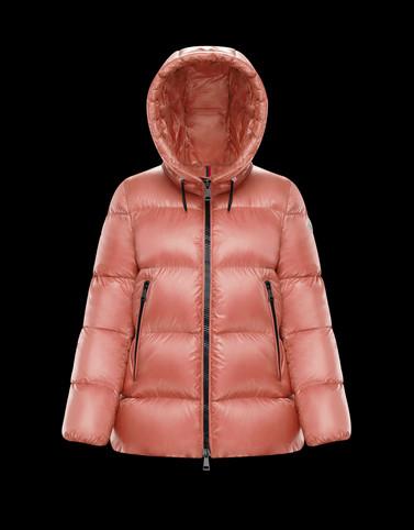 SERITTE Pink Short Down Jackets Woman