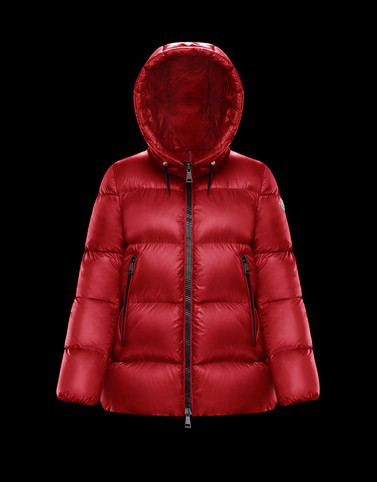 SERITTE Red Category Short outerwear Woman