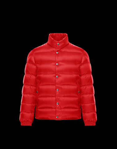 PIRIAC Red Down Jackets Man