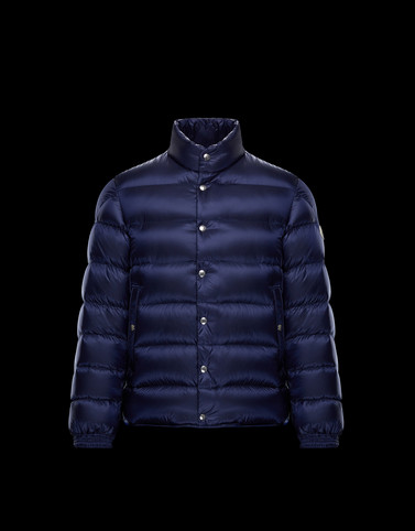PIRIAC Dark blue Down Jackets