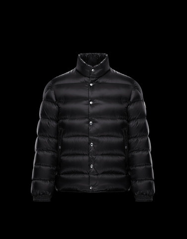 PIRIAC Black Down Jackets