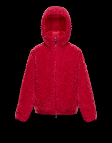 KOLIMA Fuchsia Short Down Jackets Woman
