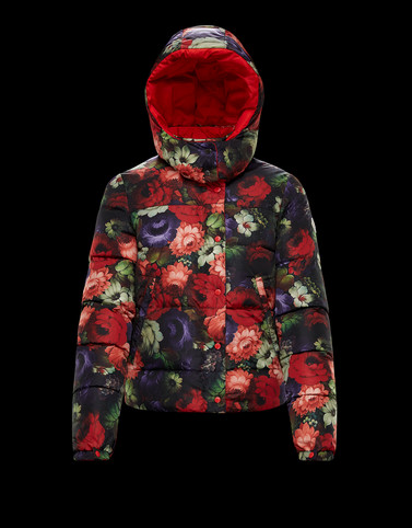KOURA Red Short Down Jackets Woman