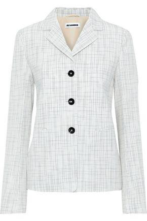 JIL SANDER Wool-blend jacquard blazer