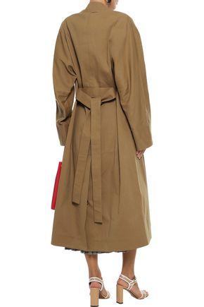 JIL SANDER Cotton-gabardine trench coat