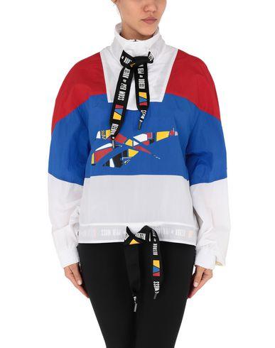 Фото 2 - Женскую куртку REEBOK x PYER MOSS белого цвета