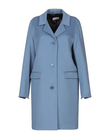 Купить Женское пальто или плащ ALBERTO BIANI небесно-голубого цвета