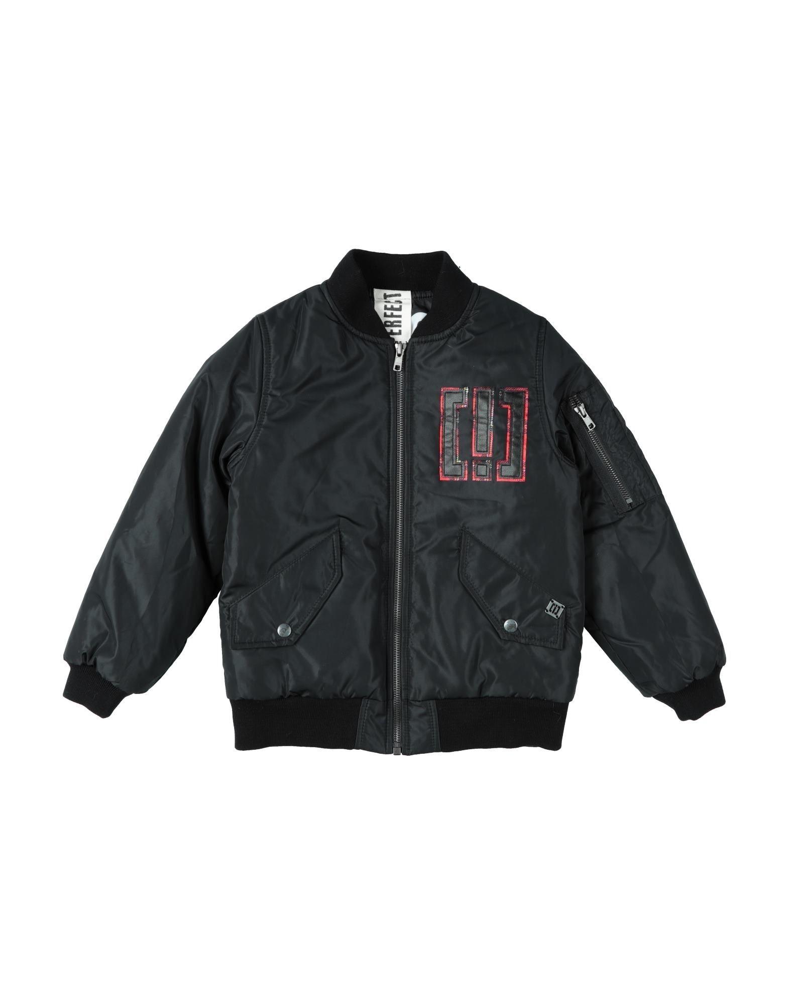 !m?erfect Kids'  Jackets In Black