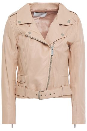 STAND STUDIO Daria leather biker jacket