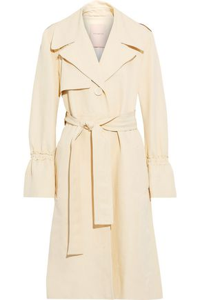 ROKSANDA Slub cotton-blend trench coat