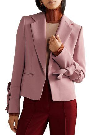 ROKSANDA Cleoda knotted cady blazer