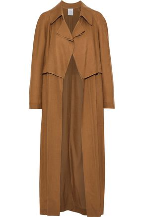AGNONA Wool and cashmere-blend trench coat