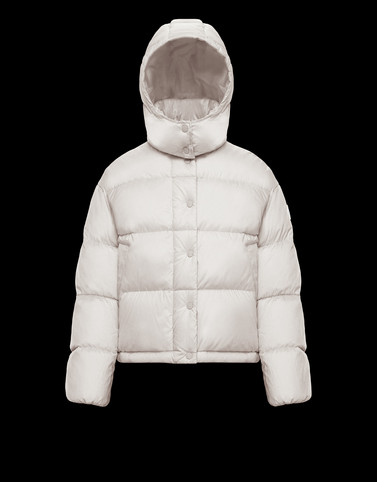 ONIA White Short Down Jackets Woman
