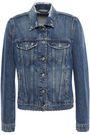 7 FOR ALL MANKIND Studded distressed denim jacket