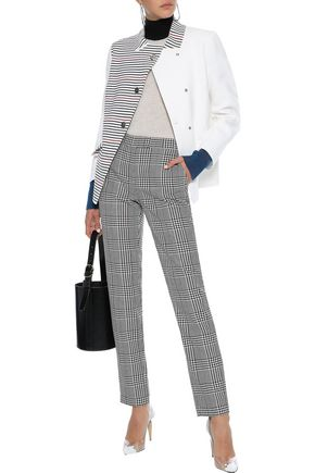 SONIA RYKIEL Double-breasted striped ponte blazer