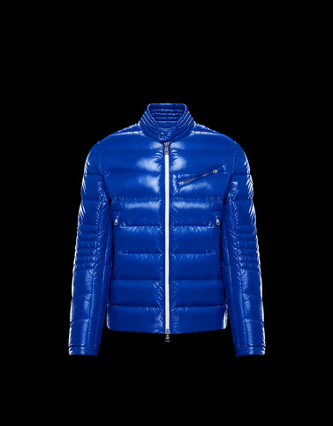 BERRIAT Blue Category Biker jackets Man