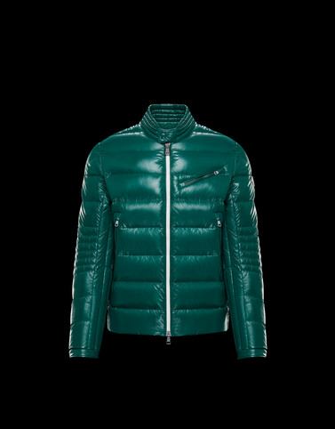 BERRIAT Green Category Biker jackets Man
