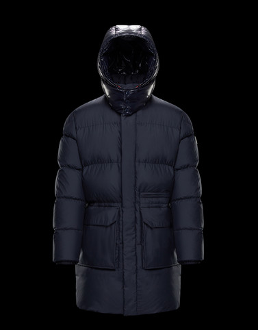 HOSTOMME Dark blue Category Parka Man