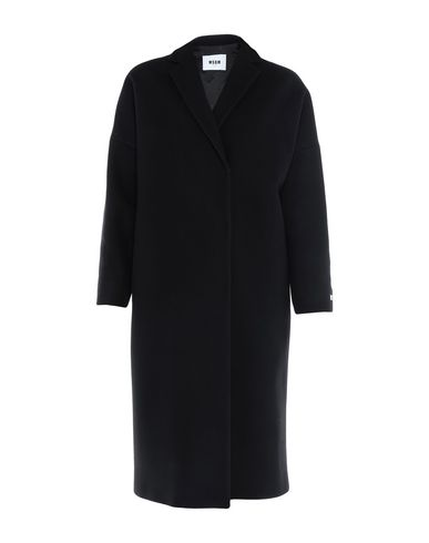 Фото - Легкое пальто от MSGM черного цвета