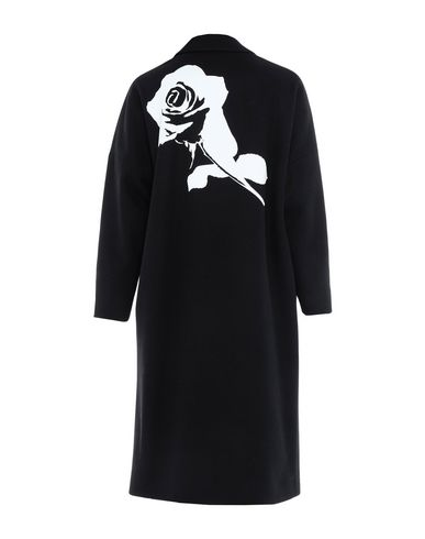 Фото 2 - Легкое пальто от MSGM черного цвета