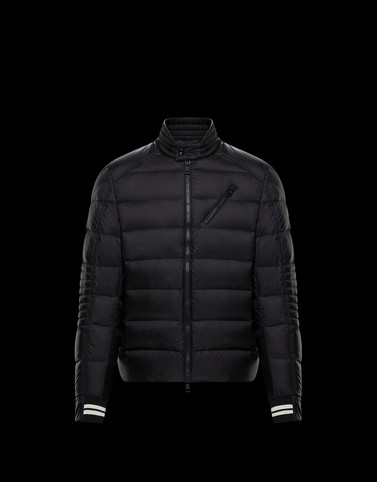 MONCLER BREL - Biker jackets - men