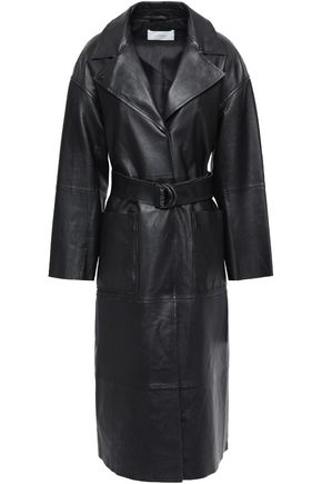 STAND STUDIO Norma leather trench coat