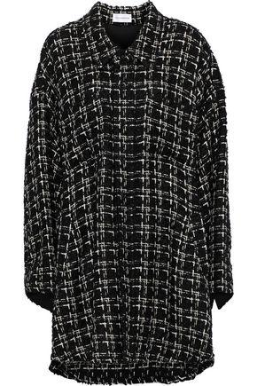 FAITH CONNEXION Metallic bouclé-tweed jacket