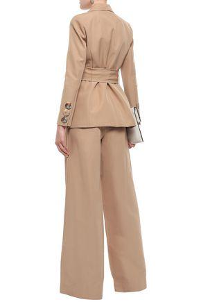 RACHEL GILBERT Cher cotton and silk-blend faille blazer