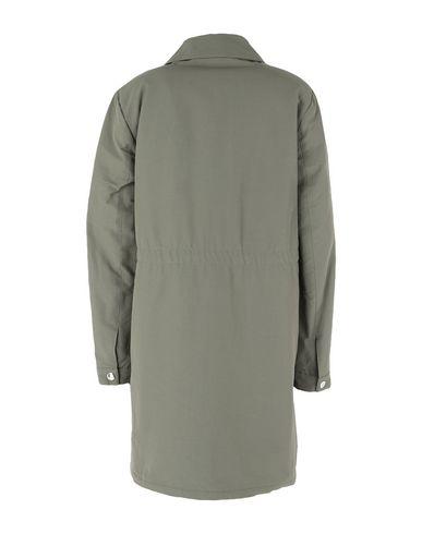 Фото 2 - Женское пальто или плащ  цвет зеленый-милитари
