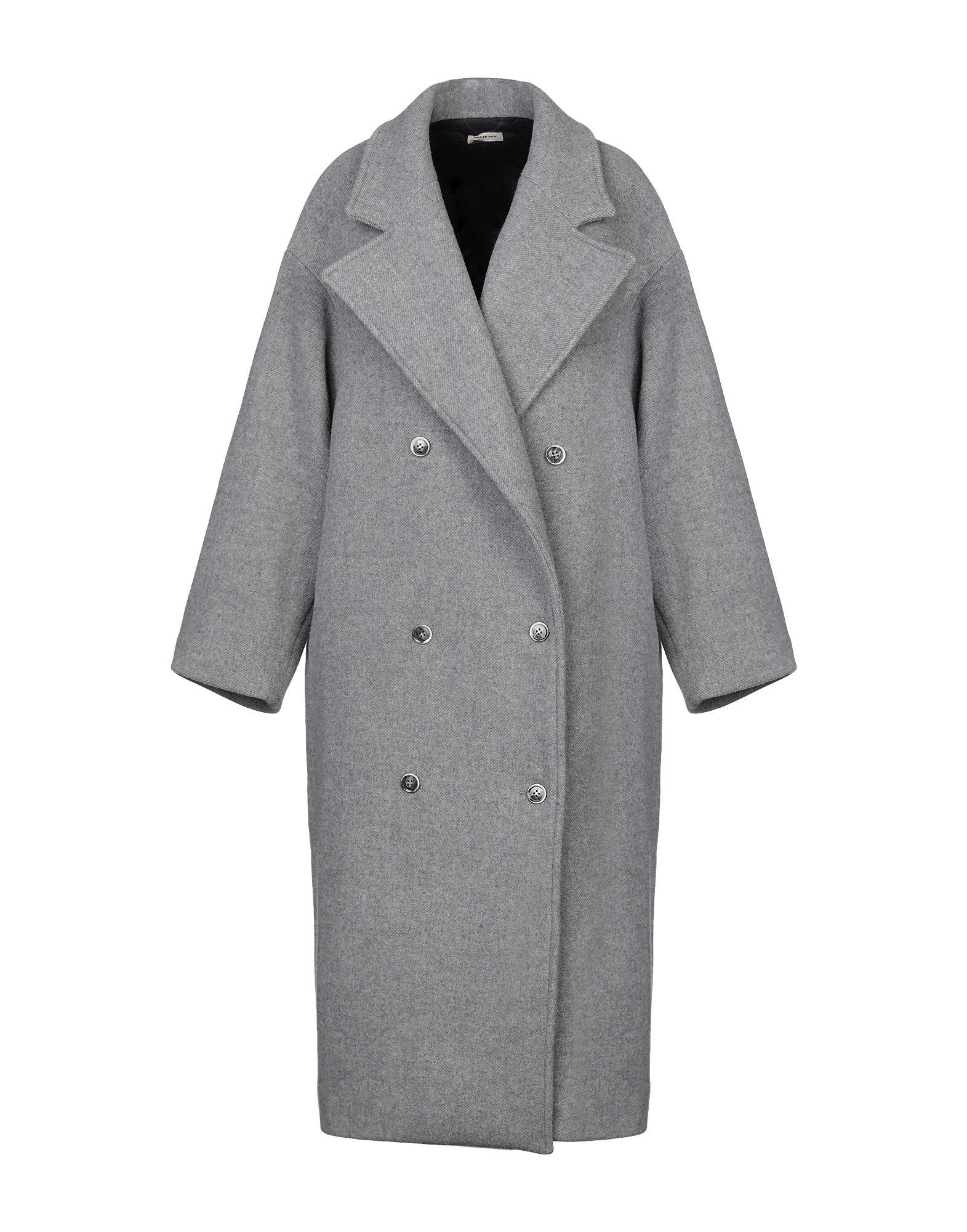 цена JUPE DE SATIN Пальто онлайн в 2017 году