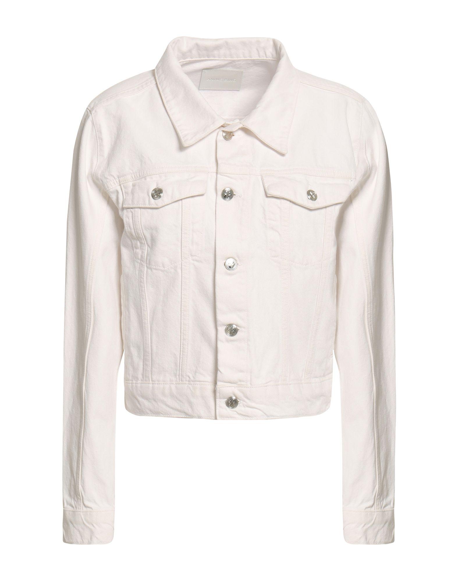 ANINE BING Джинсовая верхняя одежда anine bing pубашка