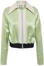 ACNE STUDIOS Pinstriped satin jacket