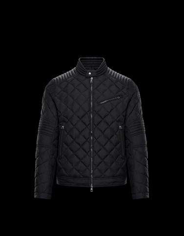 BREITMAN Black Category Biker jackets Man