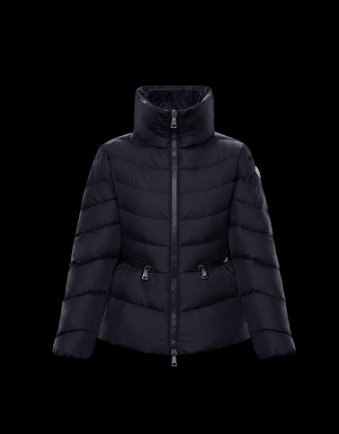 MIRIEL Dark blue Category Short outerwear Woman