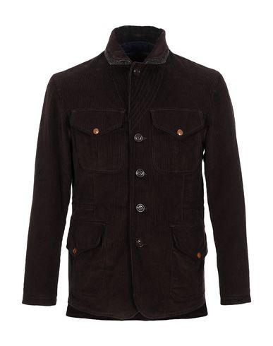 Фото - Мужское пальто или плащ MANIFATTURA CECCARELLI темно-коричневого цвета