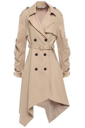 JONATHAN SIMKHAI Double-breasted cotton trench coat