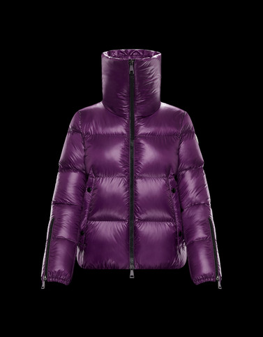 BANDAMA Purple Category Short outerwear