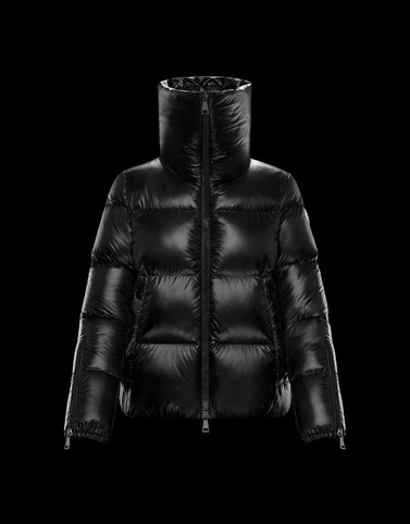 BANDAMA Black Short Down Jackets Woman