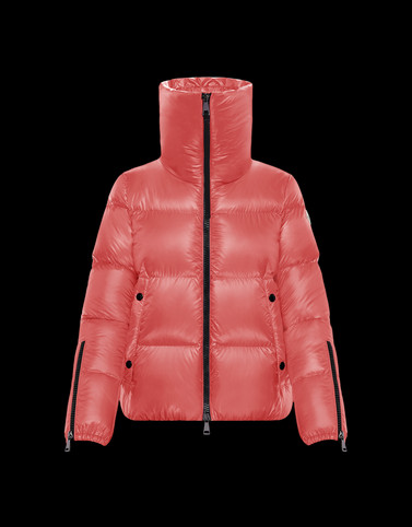 BANDAMA Light pink Short Down Jackets
