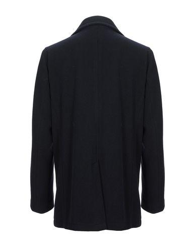 Фото 2 - Мужское пальто или плащ  темно-синего цвета