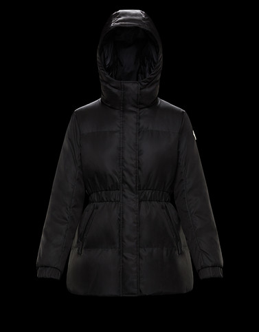 FATSIAN Black Short Down Jackets Woman