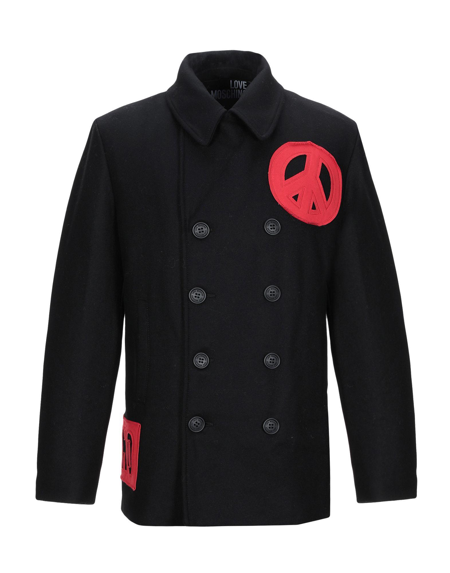 LOVE MOSCHINO Пальто блуза с застежкой на пуговицы love moschino